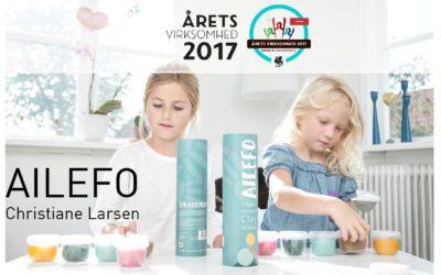 """Ailefo kåret som """"Årets nye virksomhed 2017"""""""
