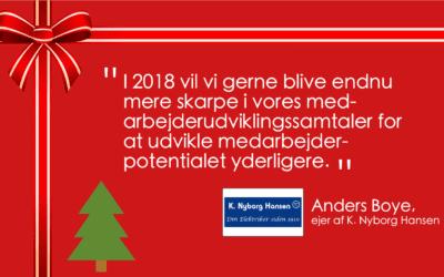 Hvad ønsker du dig for din virksomhed i det nye år?