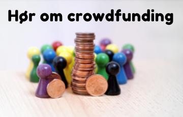 Arrangementer om crowdfunding -