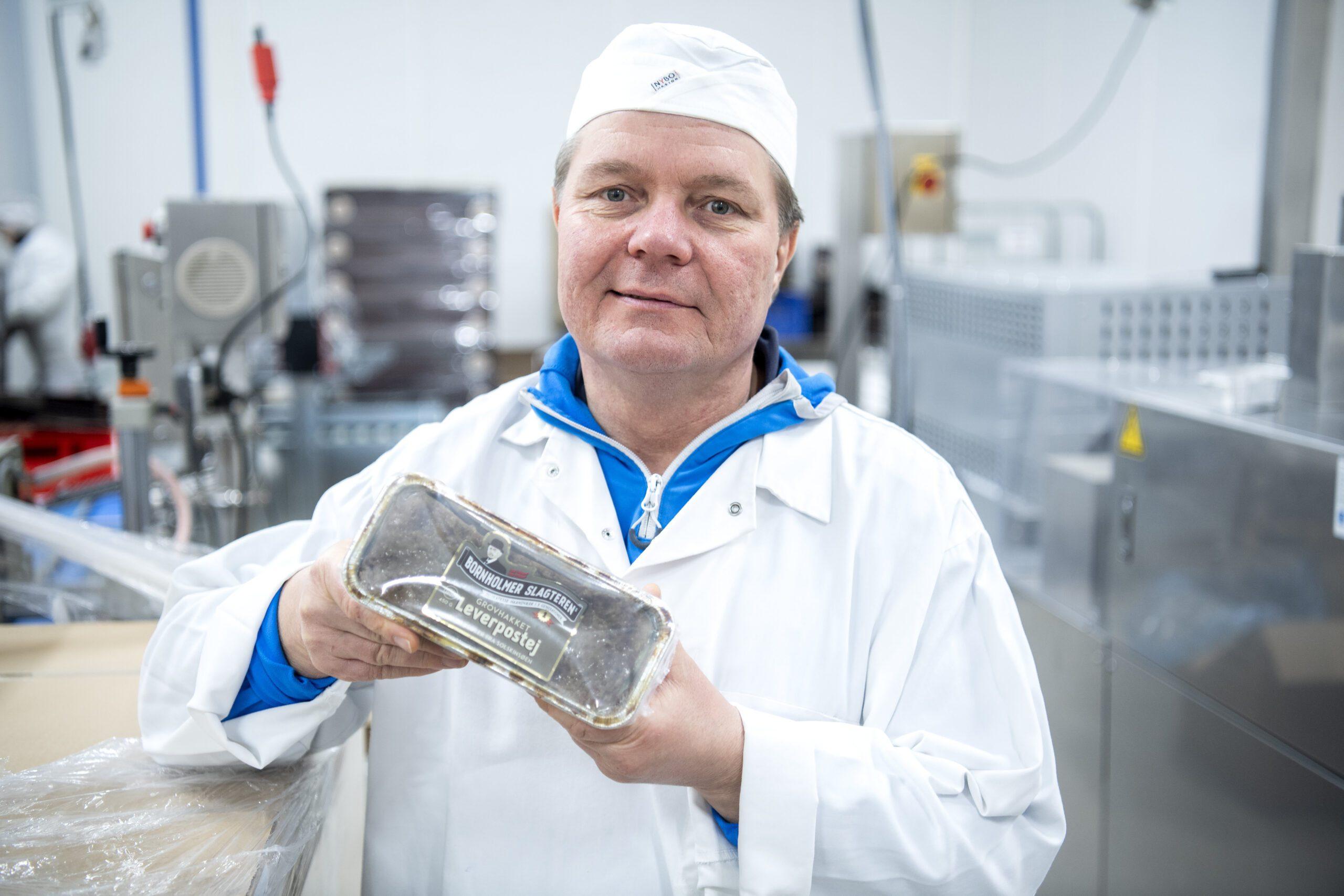 Det har krævet et langt forarbejde og en investering i produktionen at lande den store ordre for  Bornhomerslagteren. Arkivfoto: Berit Hvassum